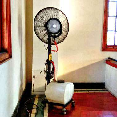 Misty Fan, Mist Fan, Misty Cool, Rental Misty Fan, Sewa Misty Fan, Penyewaan Misty Fan, Kipas Angin Air, Blower