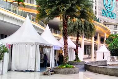 rental tenda, sewa tenda, penyewaan tenda, tenda, tenda kerucut, tenda sarnafil, tenda outdoor, tenda bazar, tenda jualan, tenda pesta, tenda event, tenda 3x3m, tenda 5x5m