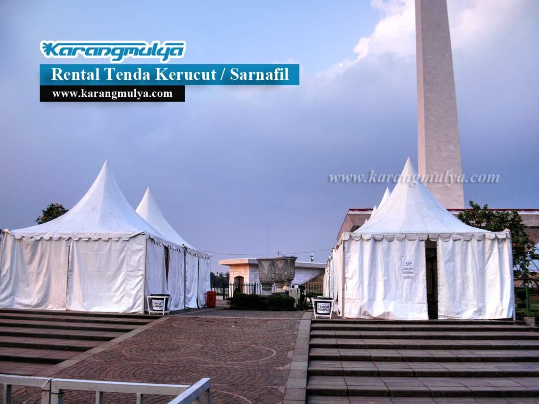 Penyewaan Tenda Rental Tenda Sewa Tenda Cengkareng Timur, Cengkareng, Jakarta Barat, Rental Tenda Kerucut atau Tenda Sarnafil dengan ukuran 3x3 dan 5x5 meter Harga murah