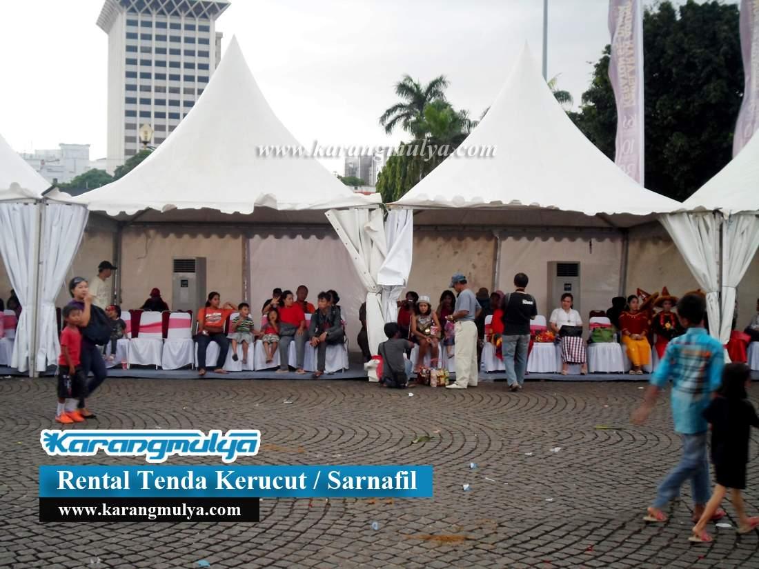 Sewa Tenda Sarnafil Untuk Penonton dan Pengunjung, Sewa Tenda Krukut, Taman Sari, Jakarta Barat