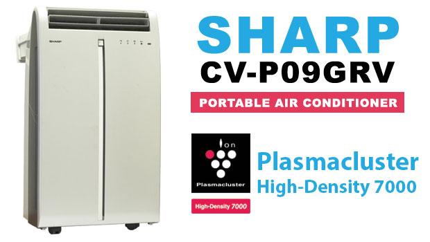 AC Portable CV-P09GRV Dengan Plasmacluster Dari Sharp