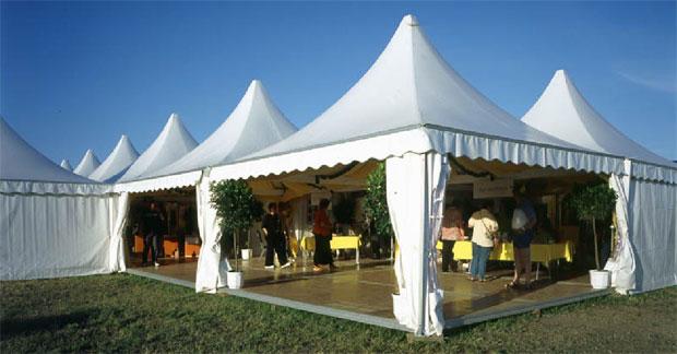 Penggunaan Tenda Sarnafil Untuk Pameran dan Bazar