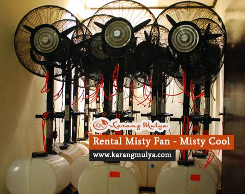 rental misty fan, rental misty cool, sewa misty fan, penyewaan misty fan