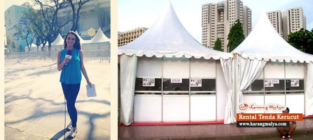 Sewa Tenda Untuk Loket Pembelian dan Pembayaran, Sewa Tenda Maphar, Taman Sari, Jakarta Barat