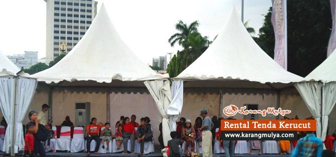 Penyewaan / Rental / Sewa Tenda Kerucut Untuk Penonton atau Pengunjung, Rental Tenda, Sewa Tenda, Penyewaan Tenda