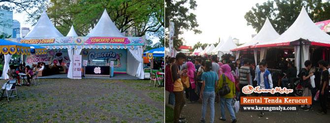 Penyewaan / Rental / Sewa Tenda Untuk Kios Atau Toko Sementara, Rental Tenda, Sewa Tenda, Penyewaan Tenda