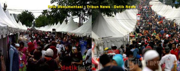 Tenda Kerucut Pada Festival Palang Pintu 2014