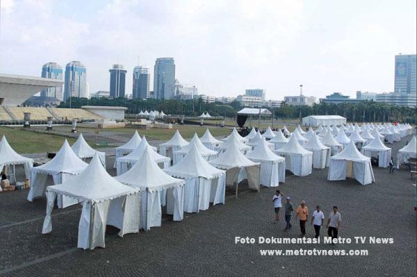 Tenda Outdoor Pada Perayaan PRJ 2014 Di Monas