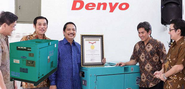 Genset Denyo Pemecah Rekor MURI 2014 Jam Nonstop