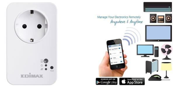 Edimax Remote Aliran listrik Rumah Melalui Smartphone