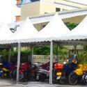 Penggunaan Tenda Sarnafil Untuk Tempat Parkir
