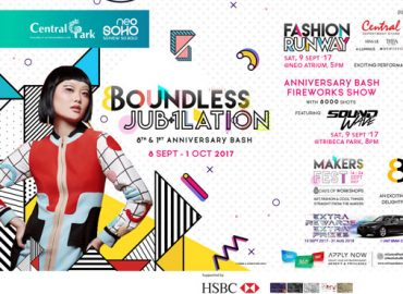 Anniversary Central Park 2017 BOUNDLESS JUB+1LATION