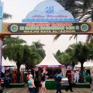 Festival dan Bazar Ramadhan Masjid Raya Al-Azhom