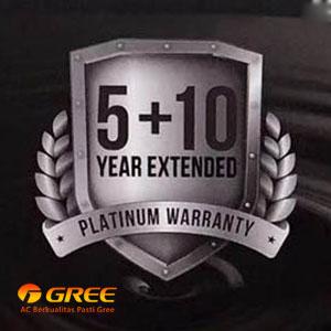 AC GREE Berikan Garansi 1, 5, Hingga 10 Tahun Bebas Biaya